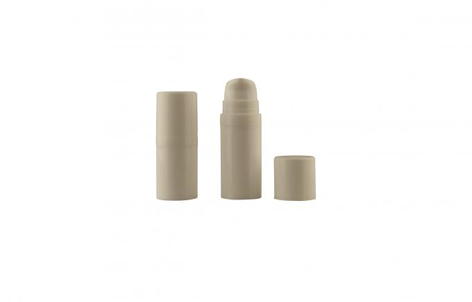 15ml Plastic airless pump bottles with Hot - stamping , Silk - screening Printing