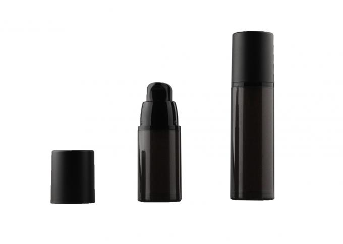 15ml 30ml 50ml PP plastic Airless Pump Bottle , airless cosmetic containers