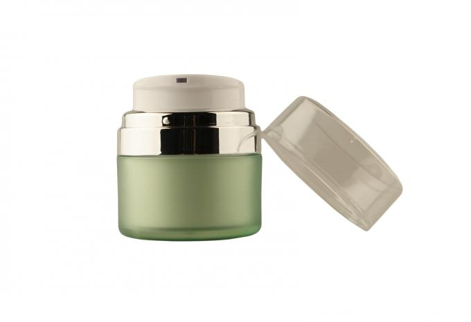30G Acrylic Airless face cream jars and and containers  for Skin Care
