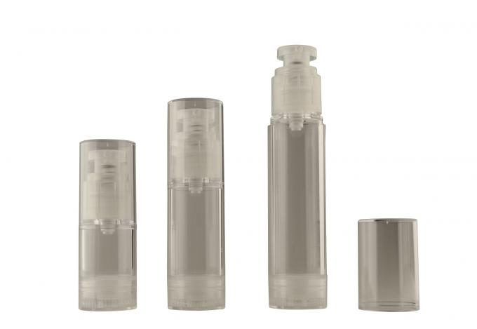 50ml Cosmetic face cream Airless Pump Bottle , cosmetic travel bottles