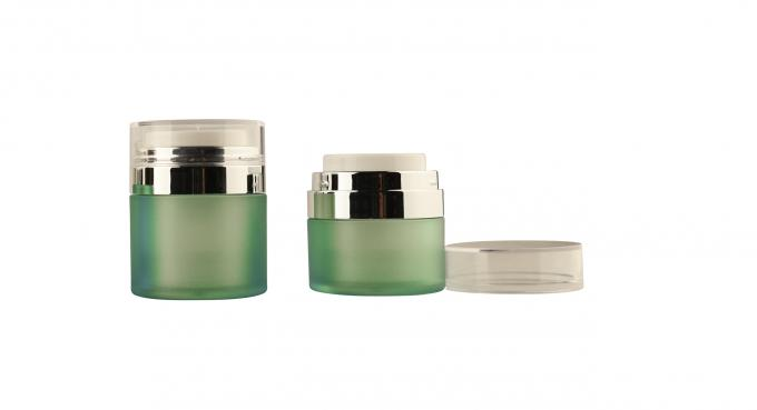 Cosmetic container clear cream plastic cosmetic jar 15G 30G 50G