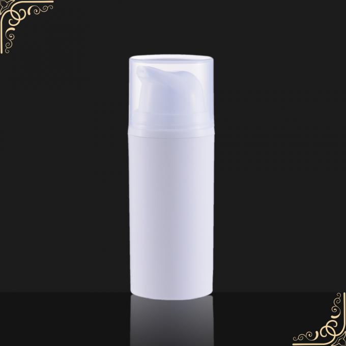 Cosmetic packaging Airless Pump Bottle with plastic cap , SR - 2101B