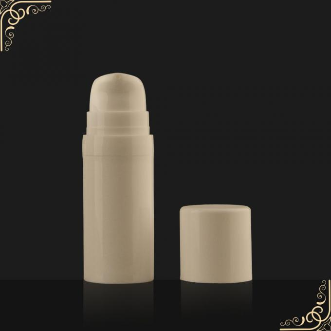 PP recyclable 5ml 10ml 15ml airless pump bottles for personal care