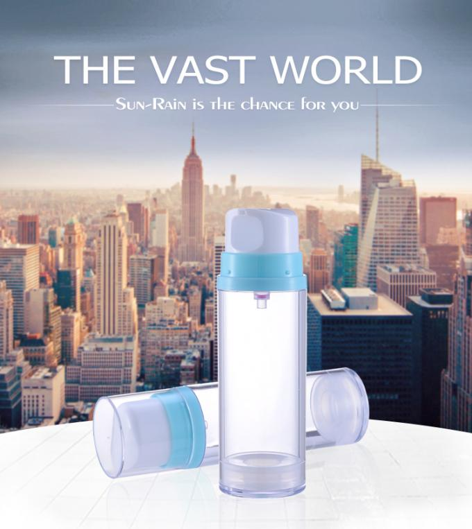 50ml 120ml 180ml Airless Pump Bottle / airless cosmetic bottles SR-2121A