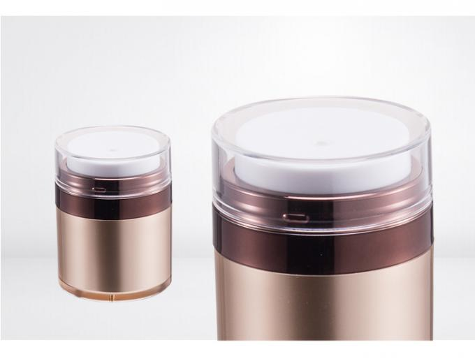 Customized empty acrylic body cream jars container pp material SR2157
