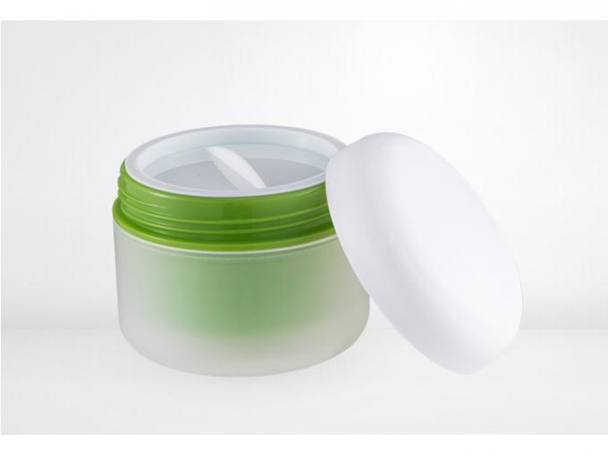 Environmental friendly PP plastic cosmetic cream jars  30ml 50ml SR2376