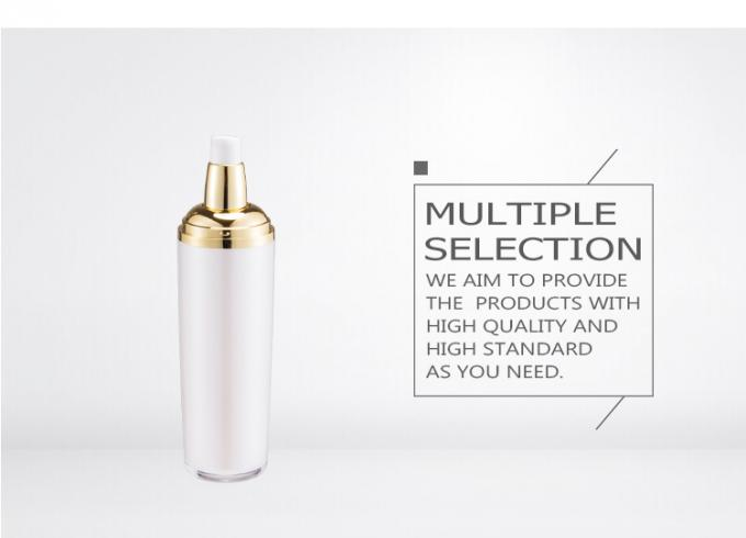 Cosmetic set lotion bottle packaging 0.23cc with gold cap SR2263A plastic pump bottle
