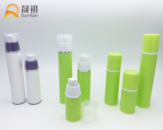 Water Transfer  Airless Lotion Bottle For Cream Lotion Packaging SR2107