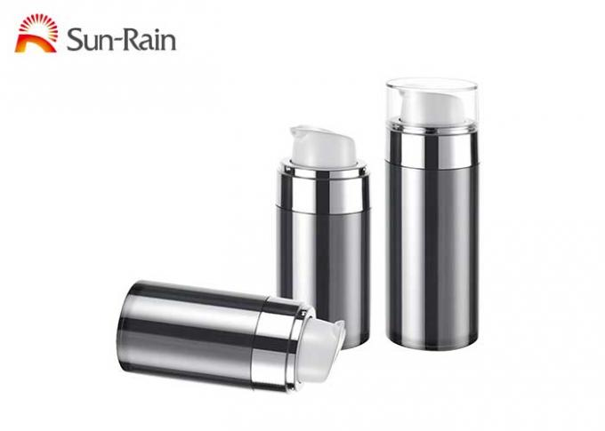 UV airless pump cosmetic bottle foundation packaging for skin care SR2151A