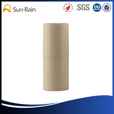 China 15ml Plastic airless pump bottles with Hot - stamping , Silk - screening Printing supplier