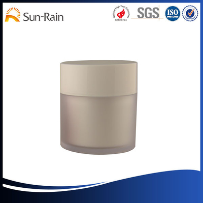 China Customized 50g Acrylic Plastic Cosmetic Jars , empty lotion jars supplier