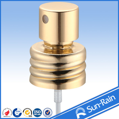 China Fragrance Perfume Pump Sprayer crimp pump with full aluminium supplier