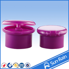 China Non spill plastic cap shampoo flip top bottle cap for cosmetic packaging supplier