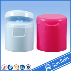 China White red Flip top Plastic Bottle Cap , cosmetic bottle caps 24/415 28/415 supplier