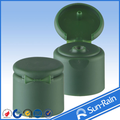 China Smooth closure plastic flip top cap / covers for cosmetic bottles supplier