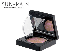 China BB Cream Air Cushion Empty Blush Compact Powder Case For Natural Skin Makeup supplier