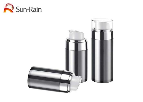 China UV Airless Pump Bottle Foundation Packaging For Skin Care SR2151A supplier