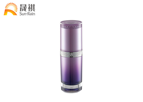 China Acrylic Gradient Lotion Cosmetic Bottle Pmma Packaging 30ml 50ml 120ml SR2294A supplier