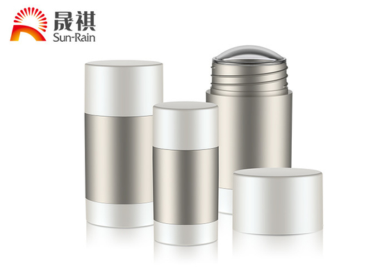 China Personal Care PET Bottle Container Deodorant Stick Containers Round Shape supplier