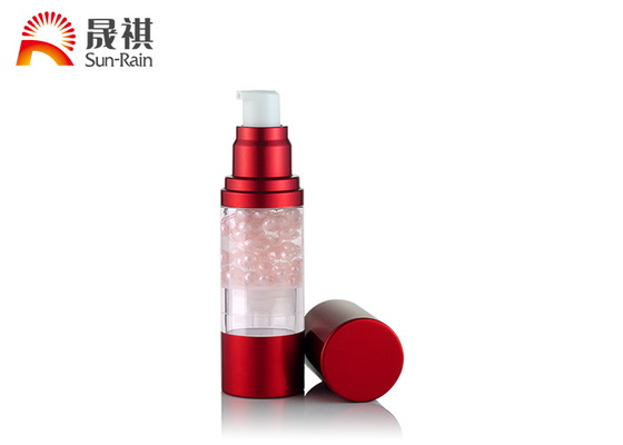 China Pearl Beads Broken Dispenser Airless Bottle Cosmetic Packaging supplier