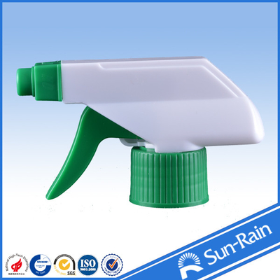 China 28/400 28/410 Plastic trigger sprayer with foam head white and green color factory