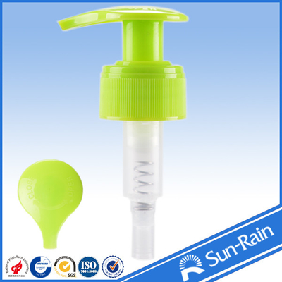 China No Spill Colorful plastic cream pump dispenser with 1.2cc output factory