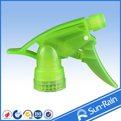 China Green plastic perfume pump sprayer / spray trigger nozzle head factory