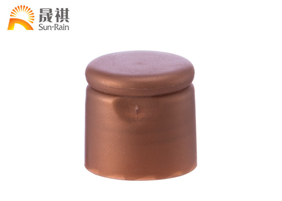 Round Plastic Flip Top Caps , Plastic Bottle Cap Dispenser 24/410 28/410 SR204C