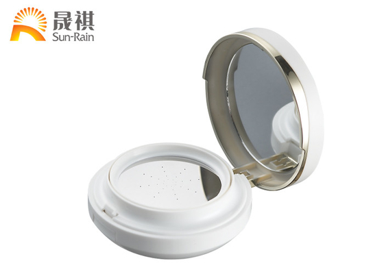China Custom Round Air Cushion Compact Case For Luxury Cosmetics SF0808C distributor