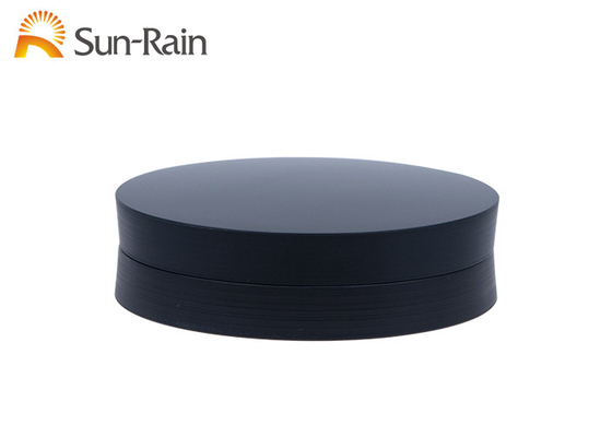 China Round Eyeshadow Palette Case ABS Makeup Eyeshadow Box With Mirror SF0806B distributor