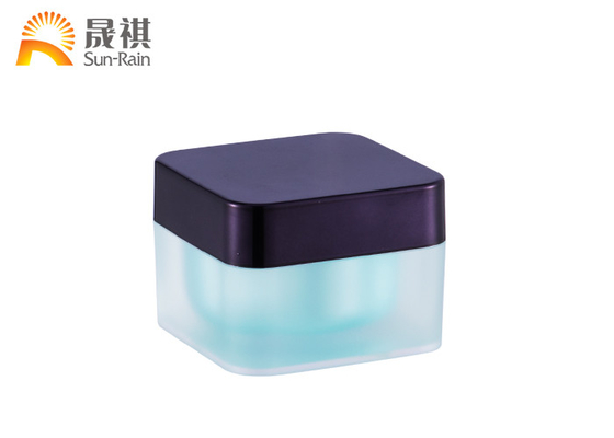 China Cosmetic Cream Jar Acrylic Empty Jar Container 5g 30g 50g SR2374A distributor