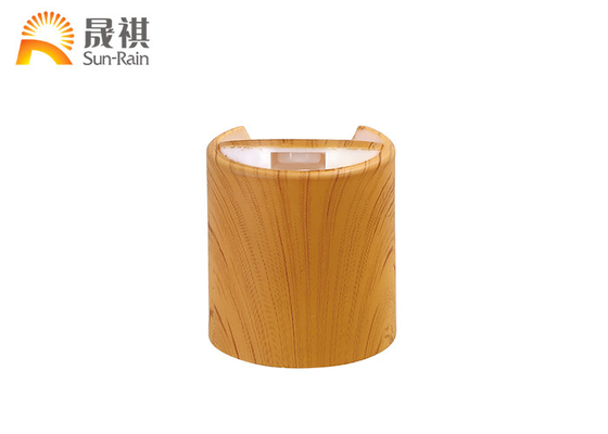 Water Transfer Lid PP Screw Cap Wooden Lids Plastic Press Cap SR202A