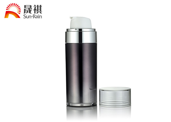 AS Material Airless Foundation Pump Bottle 30ml 50ml Empty Containers SR-2151A