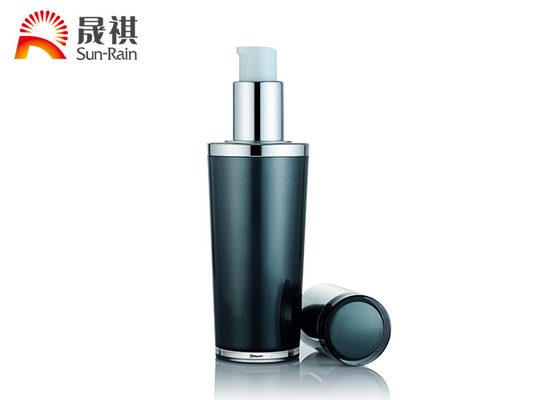 China MS Material Small Lotion Bottle 30ml , Decorative Empty Cosmetic Bottles distributor