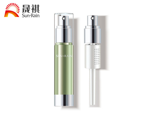China 30ml AS cosmetics sprayer bottles innovative immersion with separation packaging distributor