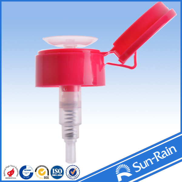 ISO 9001 certified sun rain top sales nail liquid pump dispenser